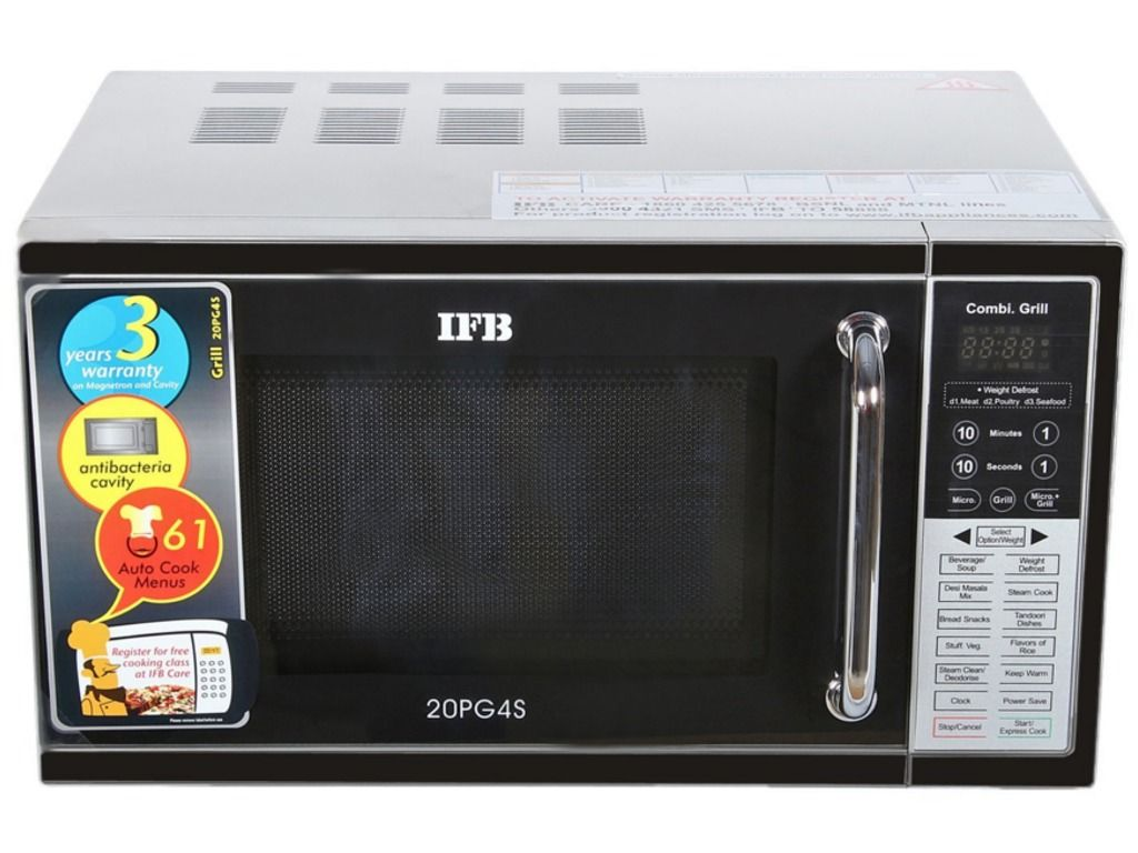 Ifb 20pg4s 20 Litre Grill Microwave