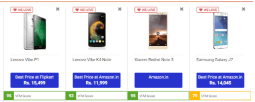 Compare on Pricebaba